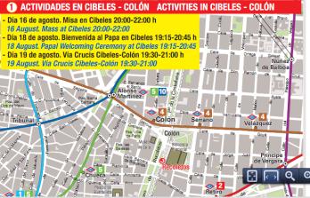 Vía Crucis por Cibeles- Colón