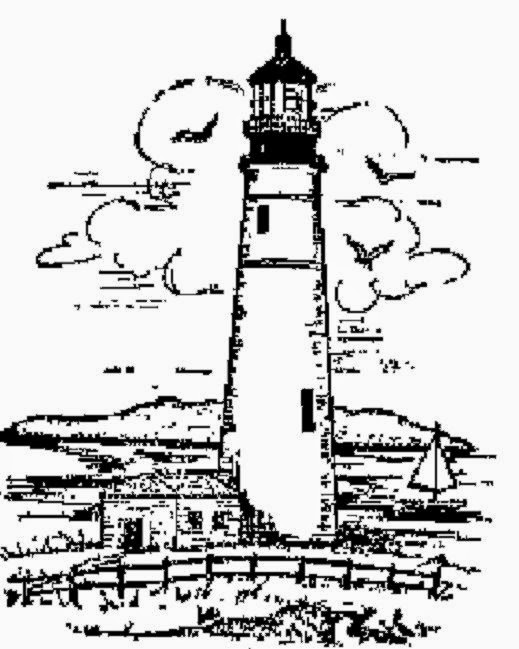 Free Printable Lighthouse Coloring Pages   Reinanco