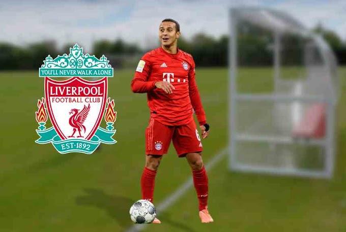 Liverpool is a step nearer to sign Bayern Munich midfielder Thiago Alacantara.