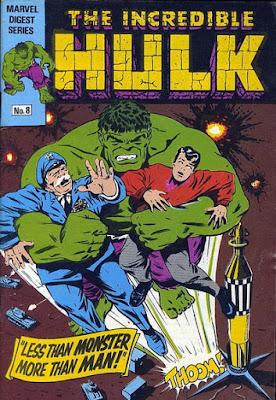 Incredible Hulk pocket book #8