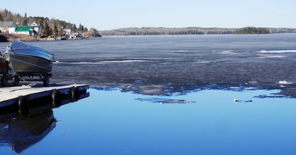 Bow narrows camp blog on red lake ontario ice out near for Red lake ice fishing