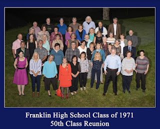 50th reunion for Franklin High School Class of 1971