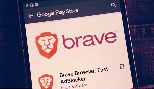 brave é agora o navegador mais bem avaliado na google play store