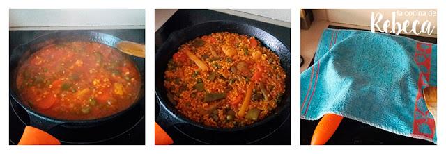 Receta de arroz con verduras 03