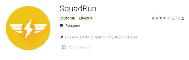 SquadRun Application
