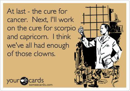 Cure For Scorpio