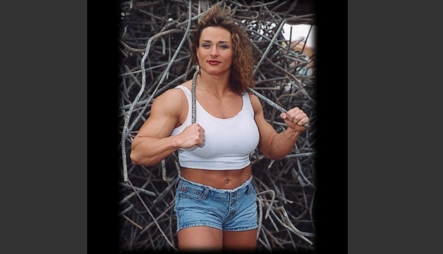 Jill Mills She dominated all the female athletic strength rankings