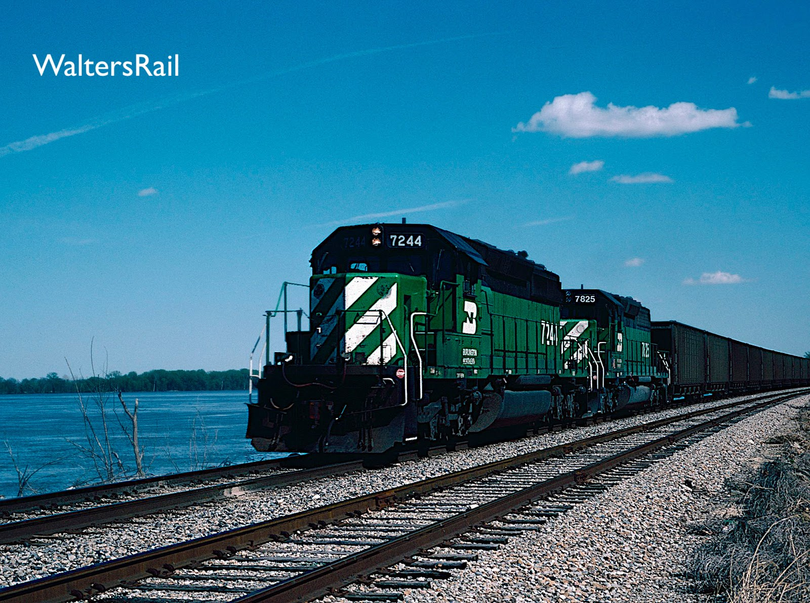WaltersRail : Burlington Northern Blues (and Greens)