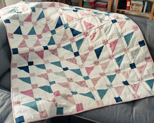 Jelly Turnover Quilt - Free Pattern