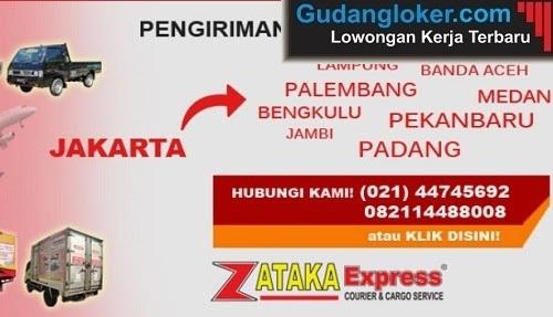 Lowongan Kerja PT. Zataka Expressindo Utama Padang