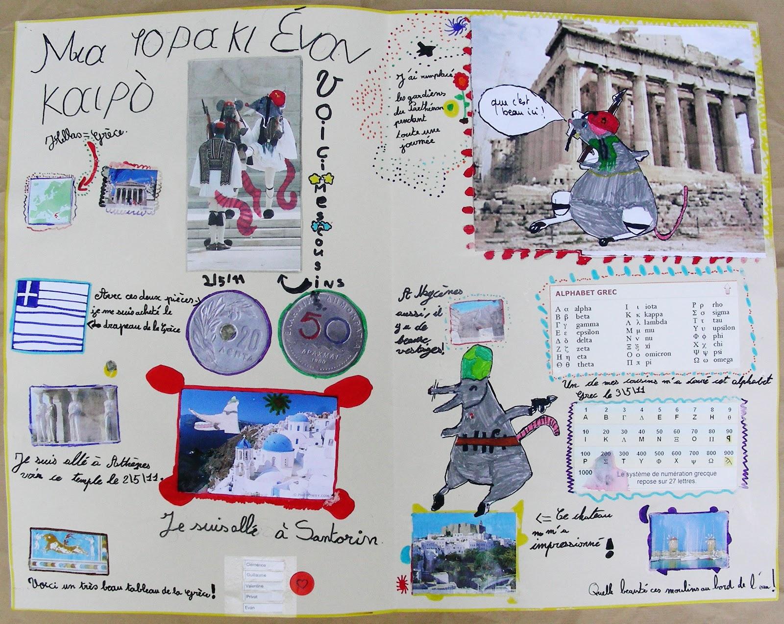 Extrêmement Perrine Boyer - Illustration: Carnets de voyage de Marianito : CM1  DK37