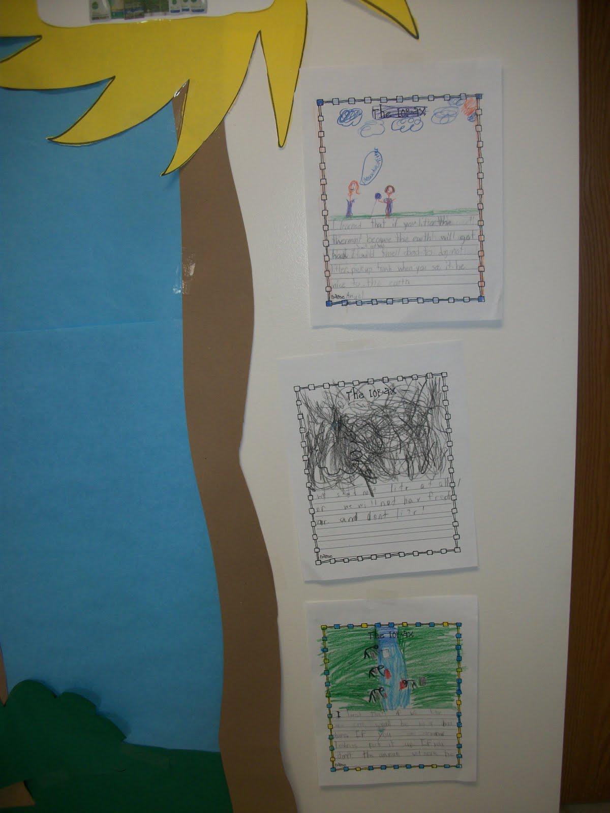 You Can Make The Sun Shine Anytime Earth Day Bulletin Board Idea Featuring The Lorax