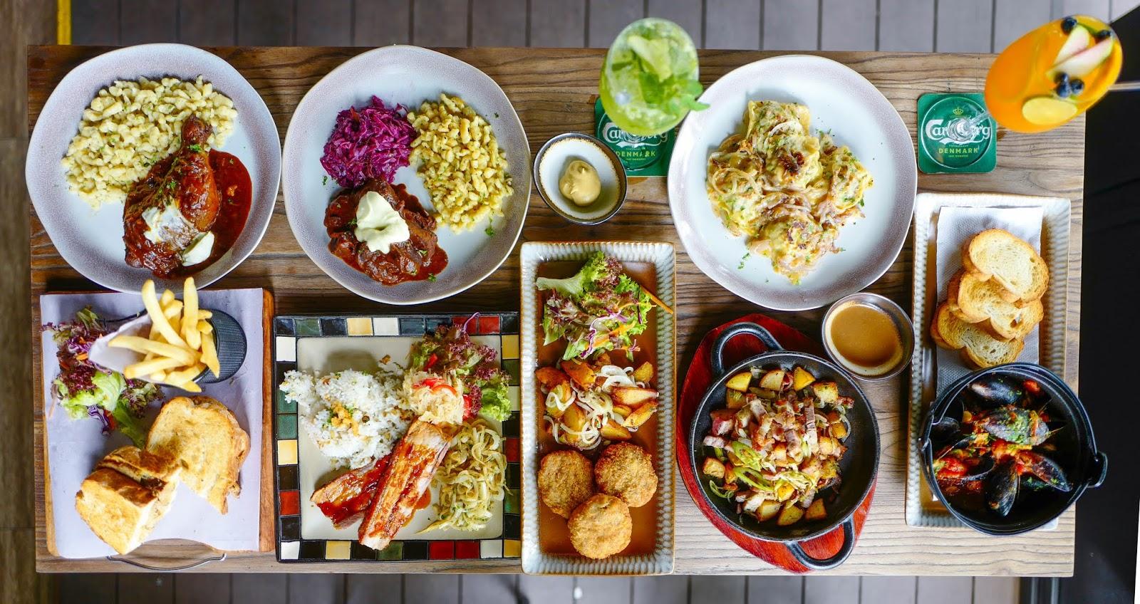 stammtisch, bukit damansara: 2020 menu