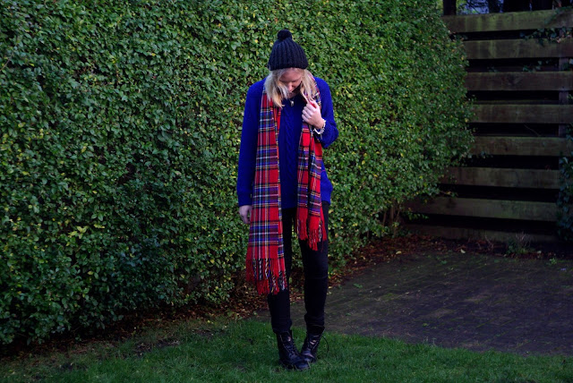 OUTFIT/ Tartan and Dr.martens