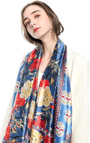 Beautiful Designer Silk Satin Scarves