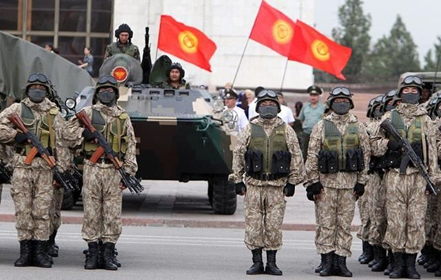 World Military and Police Forces: Kyrgyzstan Army Special Forces Weapons