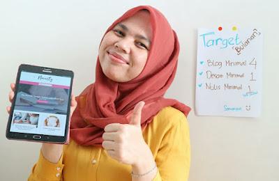 Tantangan menjadi blogger dan writer dari rumah