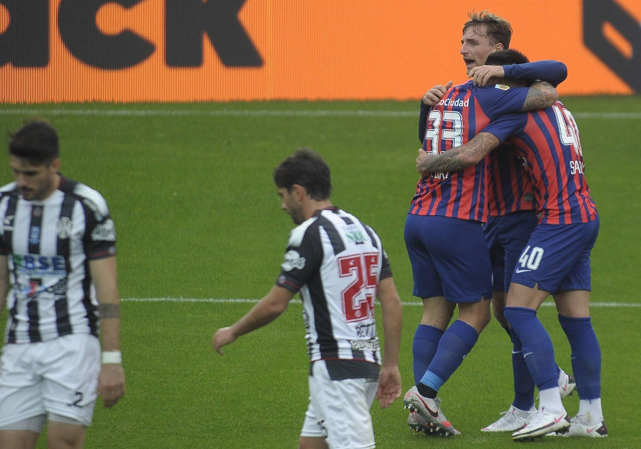 San Lorenzo ganó su primer partido del actual torneo de la Liga Profesional de Fútbol