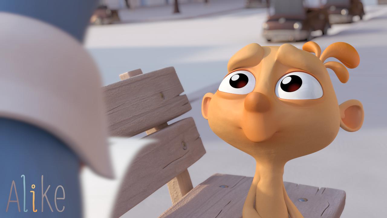 Imagen del corto Alike - Niño