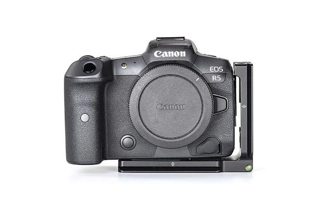Sunwayfoto PCLO-R5 on Canon EOS R5