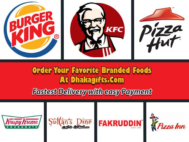 send foods to dhaka