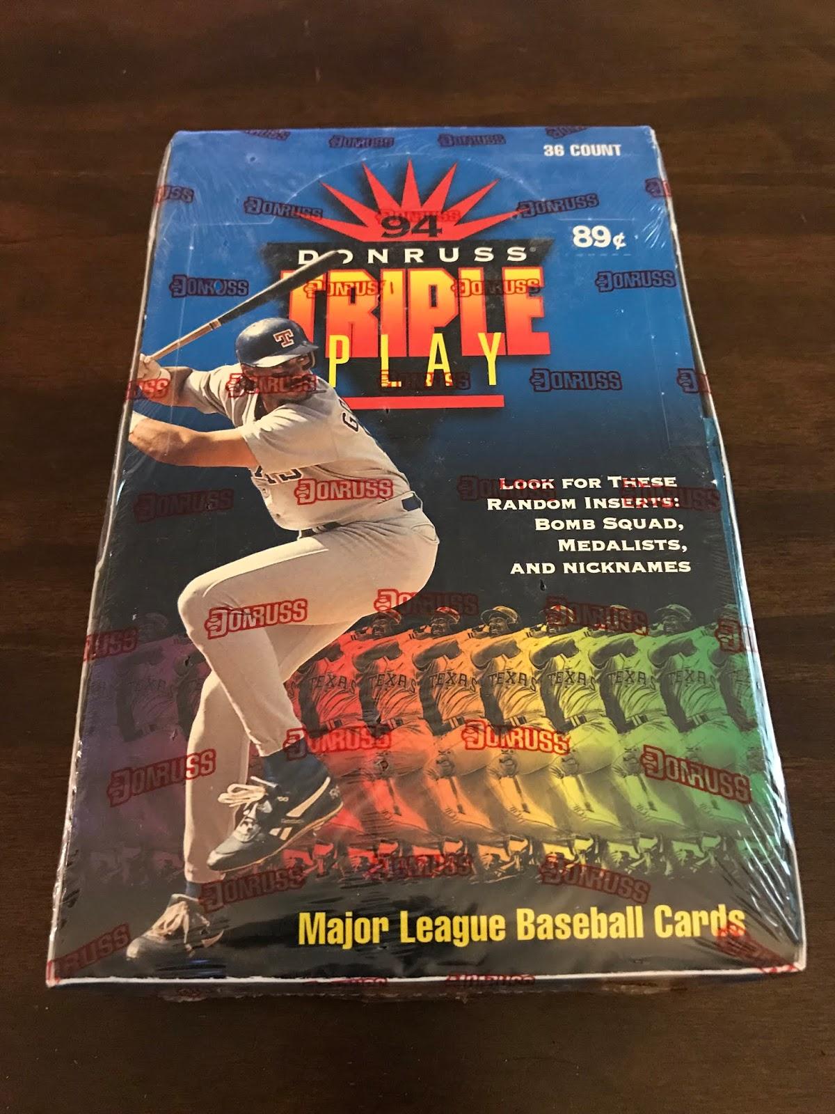 a19e70c30a Cheap Wax Wednesday - Episode 184 - 1994 Donruss Triple Play Baseball |  Cheap Wax Wednesday...and other stuff
