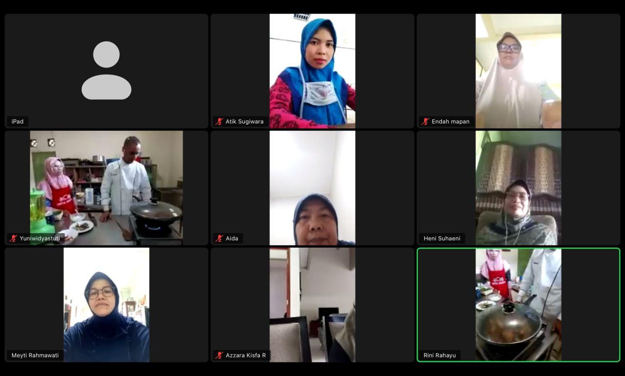 Kelas kursus memasak online UMKM MAPAN Kecamatan Pancoran Mas Depok