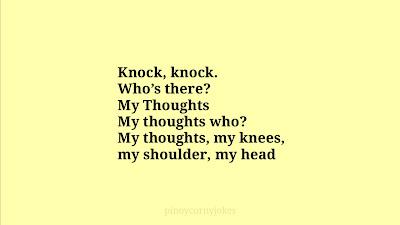 my thoughts tagalog jokes knock knock
