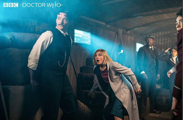 Jodie Whittaker Doctor Who and Nikola Tesla