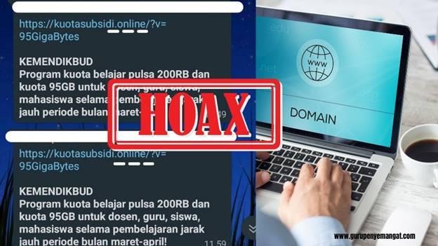 Hoax Kuota Gratis