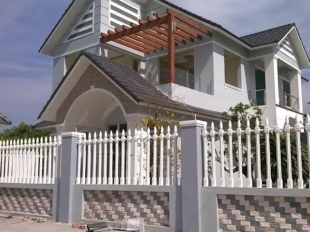 Hàng rào không chỉ là giới cho ngôi nhà