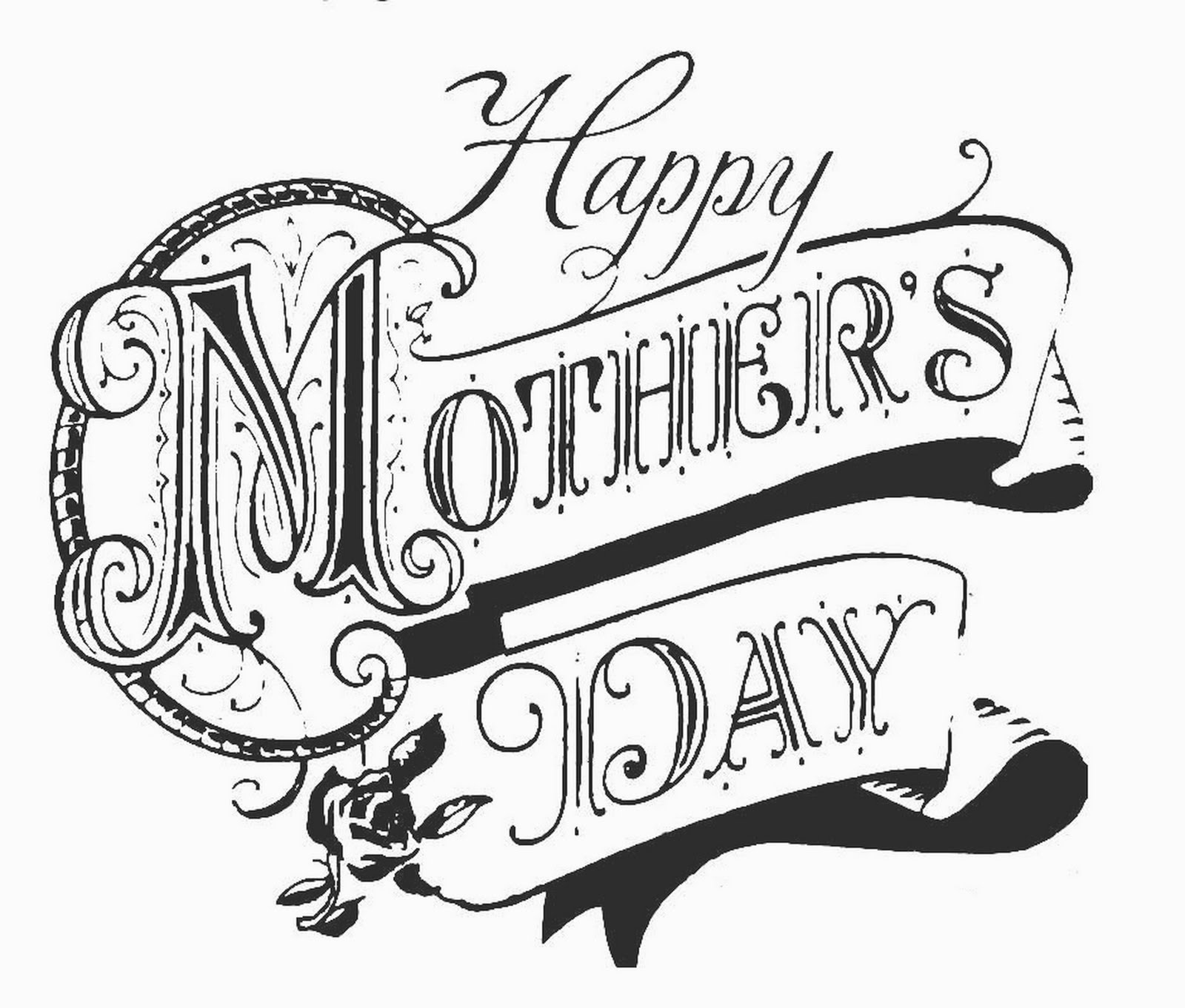 Farry Minded Mothers Day Clip Art