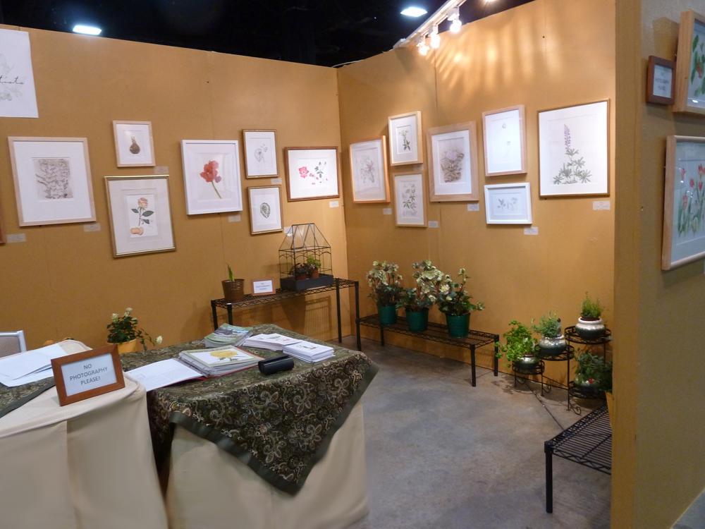 Nesba Artists Nesba Exhibits At The Boston Flower And