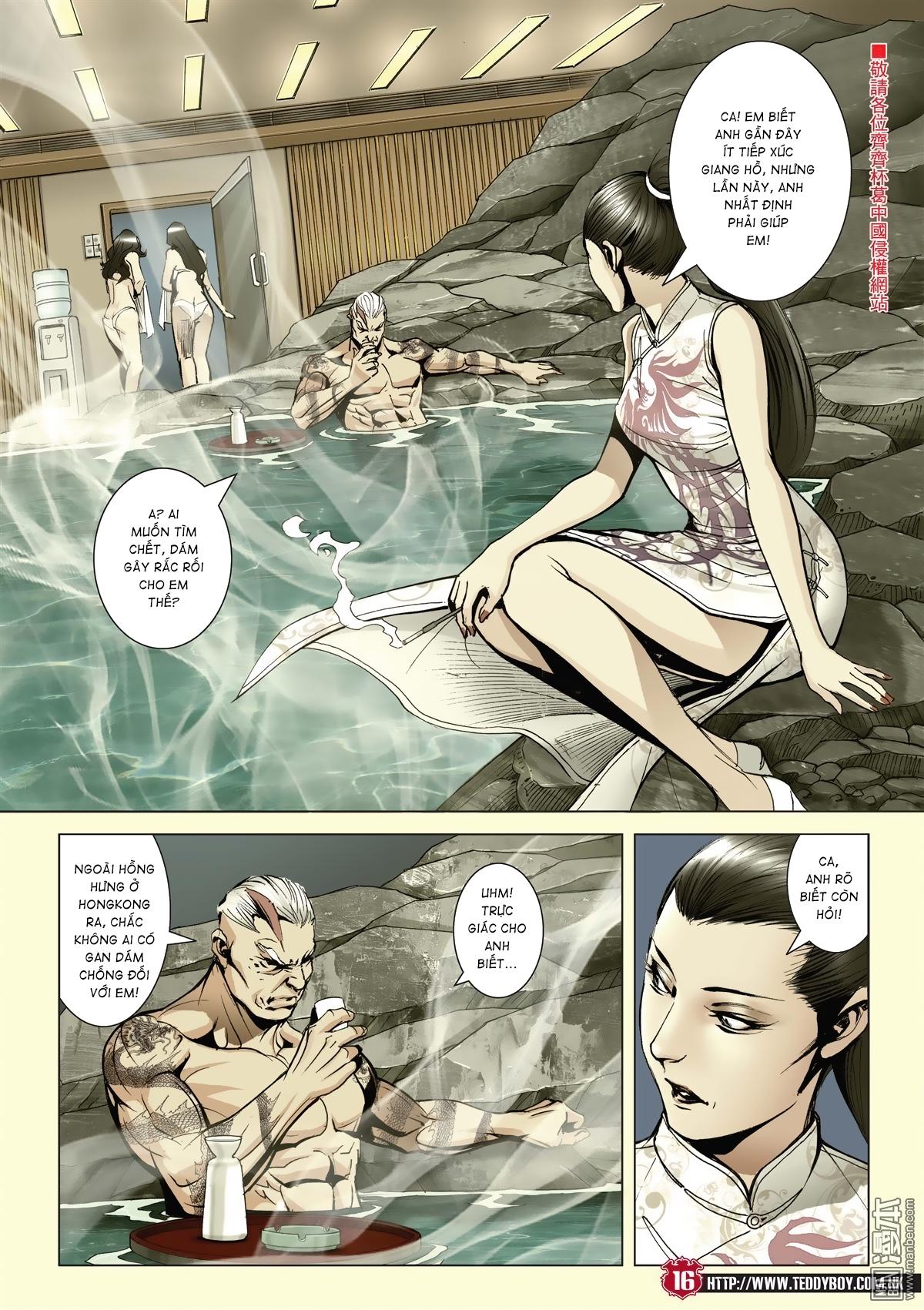 Người Trong Giang Hồ chapter 2046: thiên thu và đinh dao trang 12