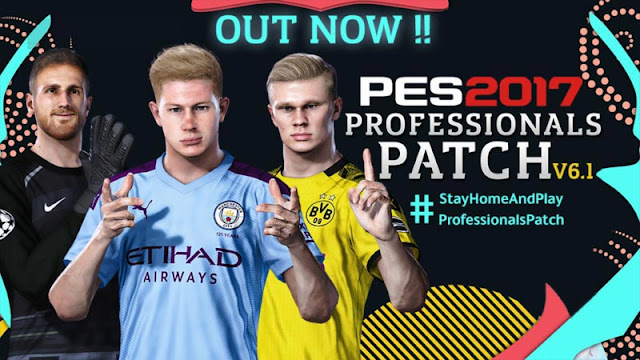 PES Professionals Patch V6 AIO + Update V6.1 PES 2017