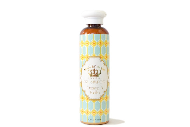 Made by David Organics Orange and Vanilla Dry Shampoo