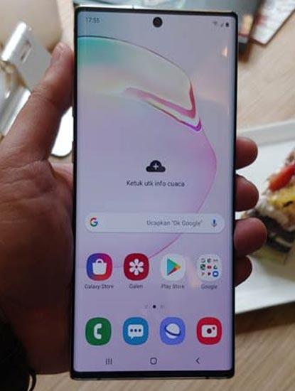 Harga Samsung Note 10 Plus