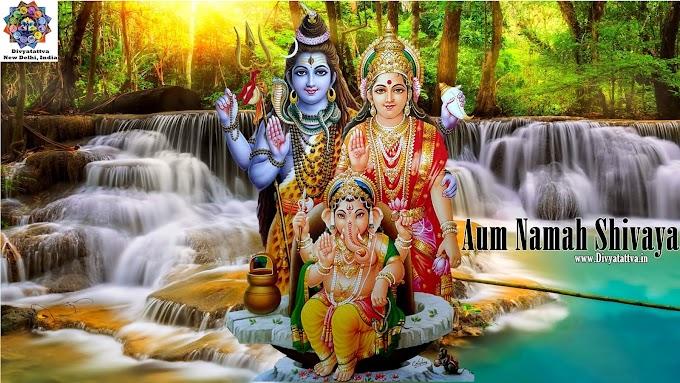 Siva Hd Photos Shiva Parivar Mata Parvati Ganesha Shivalinga Wallpaper