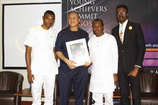 Pat Utomi, Ambode bags I am Nigeria Award