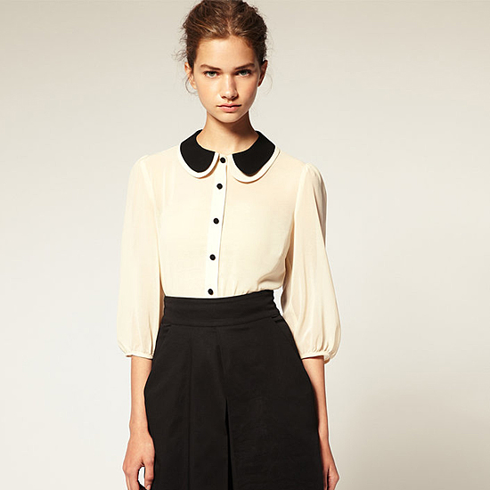 Ladies Peter Pan Collar Blouse