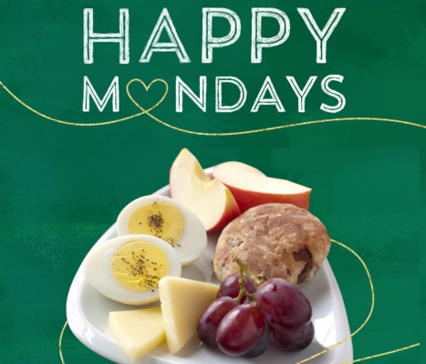 Starbucks Happy Monday Half Off Food Item With Drink Purchase