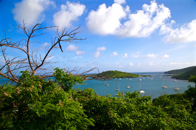 View of St Georges, Grenada