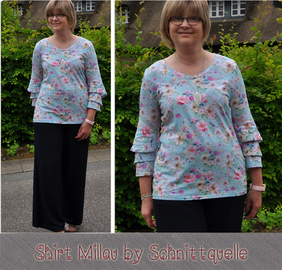 Shirt Millau by Schnittquelle