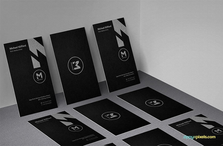 3 Free Outstanding Business Card Mockups
