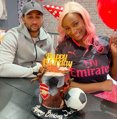 picture of dj cuppy nigeria boyfriend