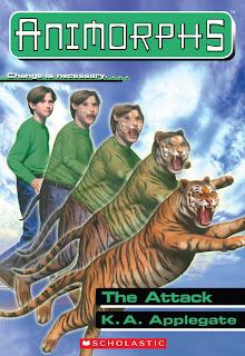 A boy (Jake) turns into a tiger