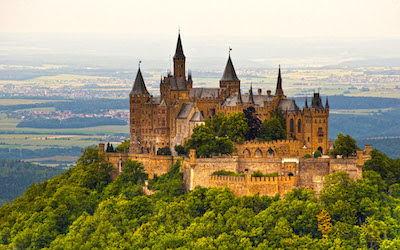 Almanya kaleleri ile ünlüdür