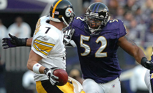 Ray Lewis Football Hits: Pittsburgh Steelers Vs. Baltimore