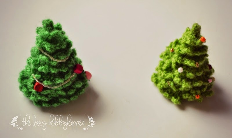The Lazy Hobbyhopper Crochet Christmas Tree Free Pattern