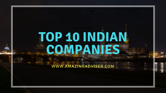 Top 10 Indian Companies And Their Market Cap